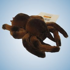 Steiff Martha Stewart Brown Mohair Spider With ID