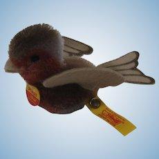 Steiff Palm Sized Pieps Songbird With All IDs
