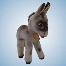 Steiff Smallest Grissy Donkey With All IDs