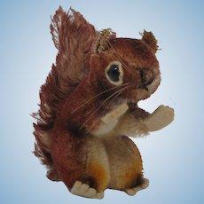 Steiff Smallest Perri Squirrel