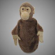 Steiff Prewar Jocko Chimp Puppet With ID