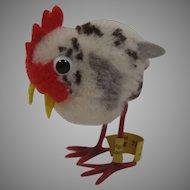 Steiff Woolen Miniature Hen With All IDs