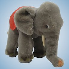 Steiff Medium Sized Mohair Elephant With ID