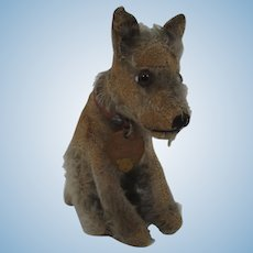 Steiff Almost Smallest Tail Moves Head Prewar Rattler Terrier With IDs