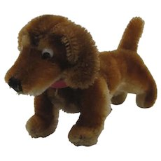 Steiff Smallest Mohair Hexie Dachshund Dog