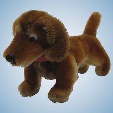 Steiff Smallest Mohair Hexie Dachshund Dog