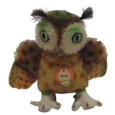 Steiff Smallest Wittie Owl With ID