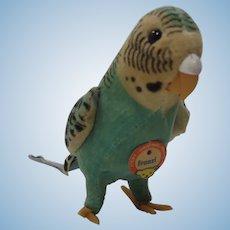 Steiff Franzi Parakeet Bird With ID
