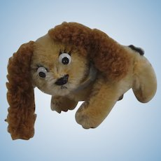 Adorable Schuco Miniature Mohair Dog