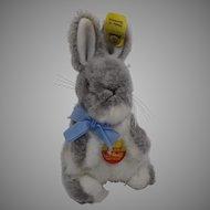 Steiff Soft Plush Manni Rabbit With All IDs