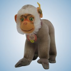 Steiff Mohair Replica Coco Baboon With All IDs