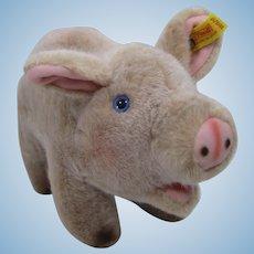 Steiff Soft Plush Jolanthe Pig With IDs