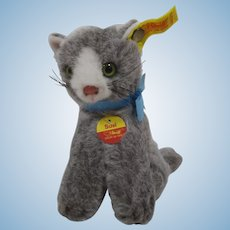 Steiff Soft Plush Sitting Susi Cat With All IDs
