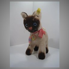 Steiff Cosy Siam Siamese Cat With All IDs