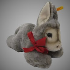 Steiff's Totally Adorable Soft Plush Floppy Donkey With All IDs