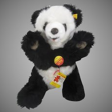 Steiff Soft Plush Molly Panda With All IDs