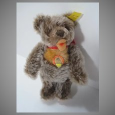 Steiff Almost Smallest Zotty Teddy Bear With All IDs
