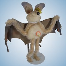 Steiff Largest Eric the Bat With All IDs
