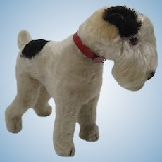 Steiff Prewar Standing Fox Terrier With ID