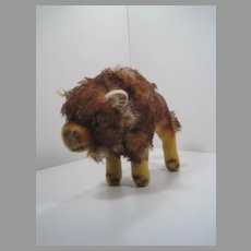 Steiff Medium Mohair Bison