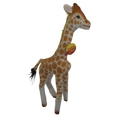 Steiff Bendy Giraffe With All IDs
