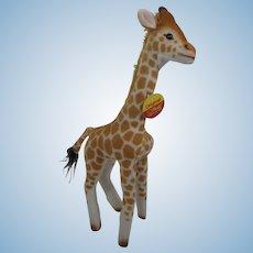 Steiff Bendy Giraffe With All IDs