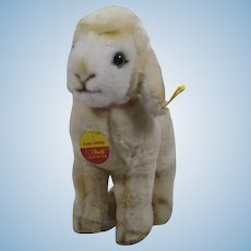 Steiff Cosy Lamby Lamb With All IDs
