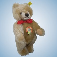 Steiff Medium Blonde Original Teddy Bear With All IDs