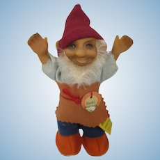 Steiff Smallest Gucki Gnome With All IDs