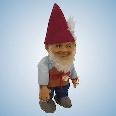 Steiff Medium Sized Gucki Gnome Doll With All IDs