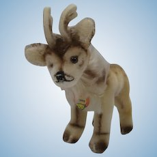 Steiff Smallest Renny Reindeer With ID