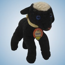 Steiff Smallest Swapl Black Lamb With ID