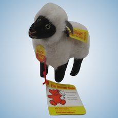 Steiff Soft Plush Snucki Sheep With All IDs
