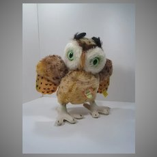 Steiff Almost Largest Wittie Owl With All IDs