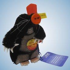 Steiff Mohair Maxi Mole With All IDs