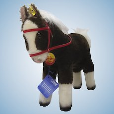 Steiff Largest Ferdy Play Horse With All IDs