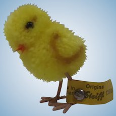 Steiff Teeny Tiny Woolen Miniature Chick Bird With All IDs