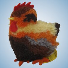 Steiff Woolen Miniature Hen With All IDs