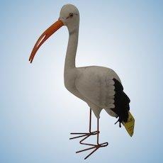 Steiff Felt Adebar Stork With IDs