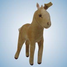 Steiff Velvet Foal Pony With IDs