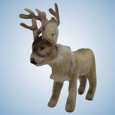 Steiff Largest Mohair Renny Reindeer