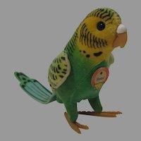 Steiff Hansi Parakeet Bird With All ID