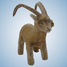 Steiff Largest Rocky Capricorn Goat With All IDs