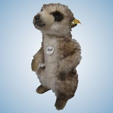 Steiff Mohair Cockie Meerkat With All IDs