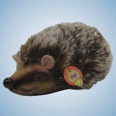 Steiff Medium Joggi Hedgehog With ID
