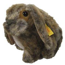 Steiff Soft Plush Rabbit With All IDs
