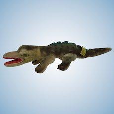 Steiff Smallest Mohair Gaty Crocodile With All IDs