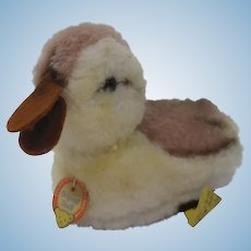 Steiff Dralon Duckling Bird With All IDs