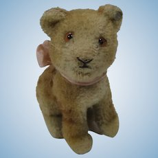 Steiff Smallest Early Postwar Wool Plush Young Lion With ID