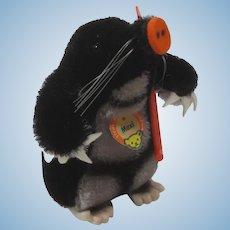 Steiff Mohair Maxi Mole With ID